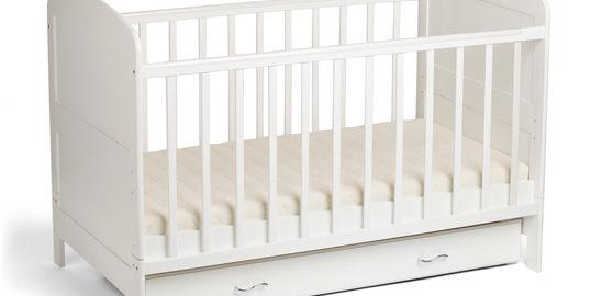 Babybett Weiß